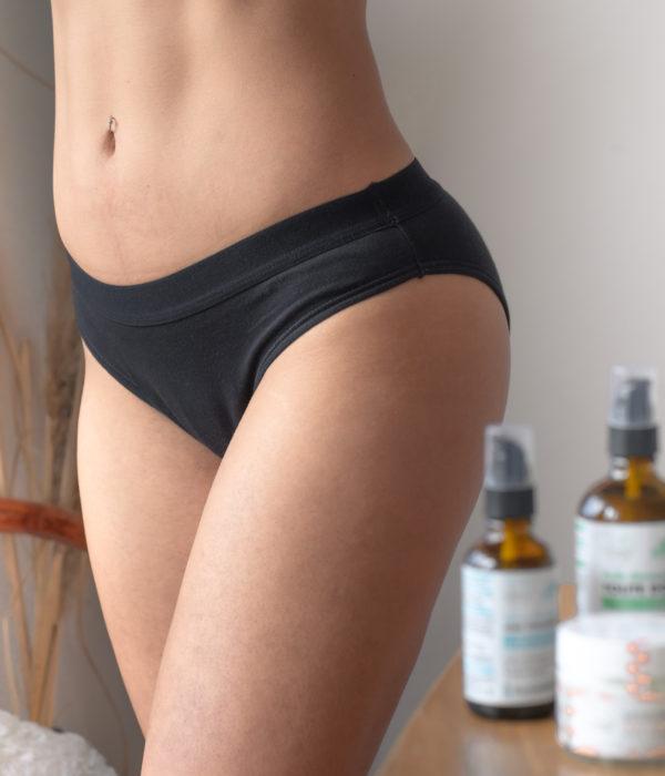 culotte menstruelle en coton bio made in france